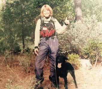 Bonnie Brown Cali CARDA Search and Rescue Team