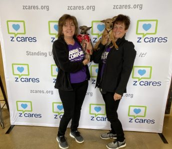 Sue Marlais, Cheryl Collins Therapy Dogs